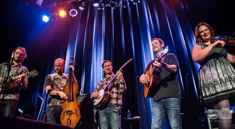 Yonder Mountain String Band and Arkansauce