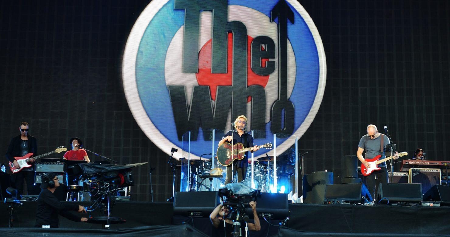 Edmonton, Alberta, Canada The Who at Rogers Place