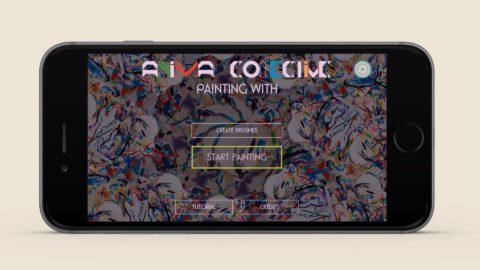 Animal Collective Painting With App