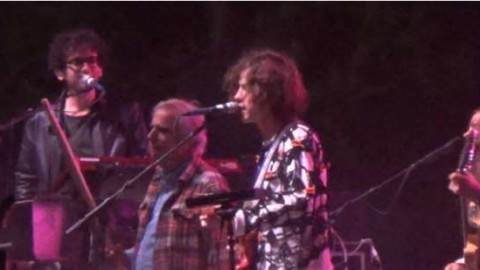 The Fonz Adds More Cowbell To MGMT Performance At FYF Fest