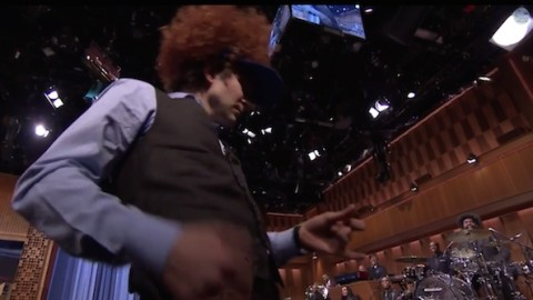 DVR Rewind   Bradley Cooper Plays Air Guitars to Neil Young