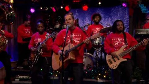 DVR Rewind   Jack Johnson And The Roots Holiday Song