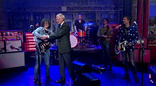 Ryan Adams Gives Letterman Something Good Twice