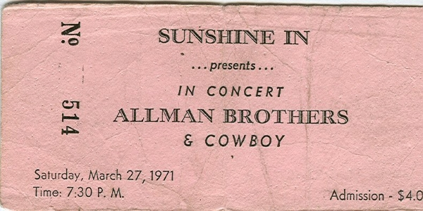 Flashback | Bruce Springsteen Opens For Allman Brothers Band