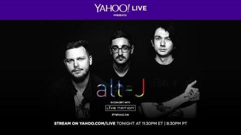 Couch Tour Alert | Free Alt-J Red Rocks Webcast