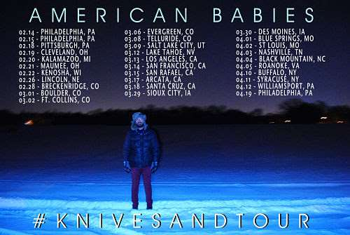 Tour Dates   American Babies Kick Off Extensive Tour Tonight