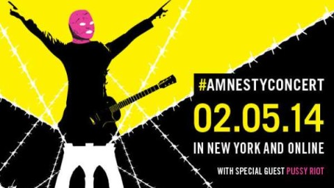 Amnesty USA Concert | Pussy Riot