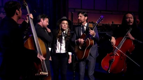DVR Rewind   The Avett Brothers & Brandi Carlile On Letterman