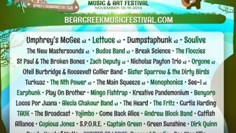 Bear Creek 2014 Phase Two Lineup Announcement