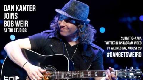 Bob Weir To Welcome Guitarist Dan Kanter To TRI Studios