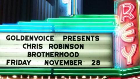 Chris Robinson Brotherhood Covers Kinks & Hard To Handle