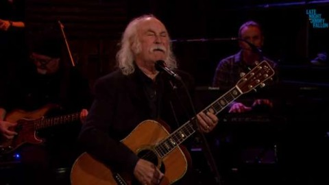 DVR Rewind   David Crosby On Late Night With Jimmy Fallon