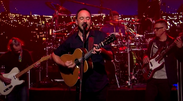 Dave Matthews Band Reprises First Letterman Visit For Finale