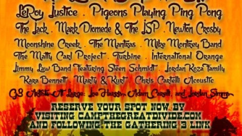 Gathering 3 At The Great Divide Lineup Finalized