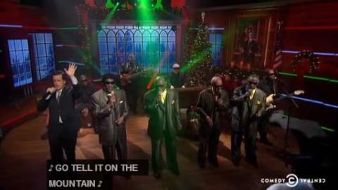 DVR Rewind   Blind Boys Of Alabama Team With Colbert