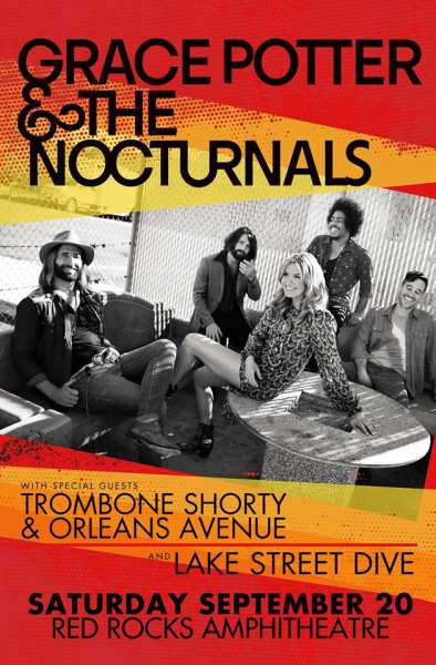 Grace Potter & Nocturnals To Headline Red Rocks