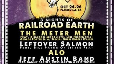 Railroad Earth | Hangtown Halloween Ball Lineup
