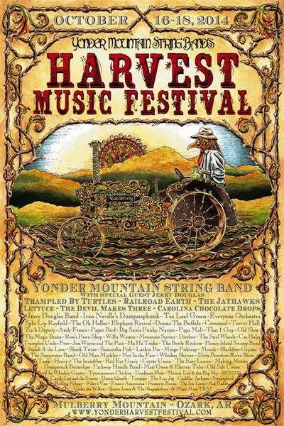 Yonder Announces Harvest Music Festival Lineup