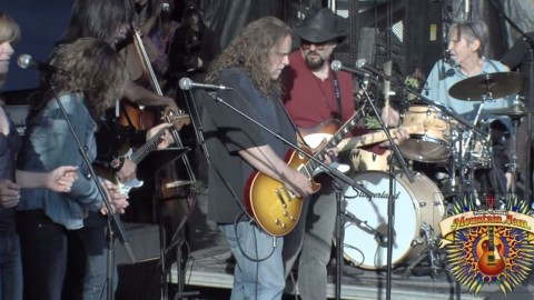 Throwback Thursday | Levon Helm & Warren Haynes At Mountain Jam