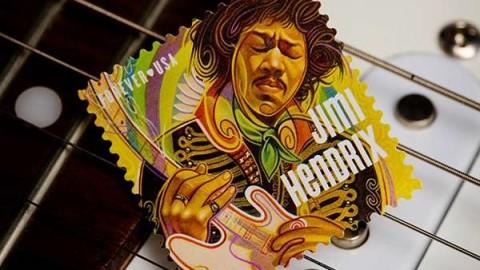 United States Postal Service Unveils Jimi Hendrix Stamp