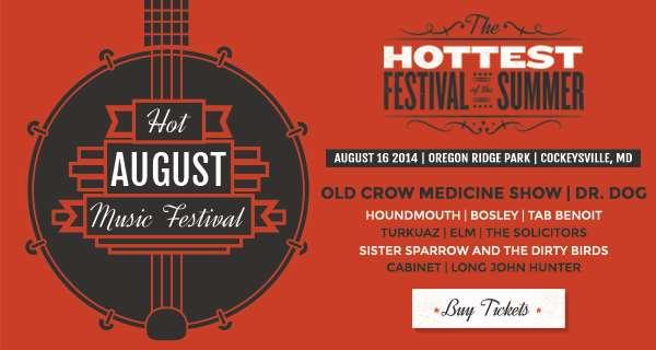 Hot August Music Festival Announces Initial Lineup