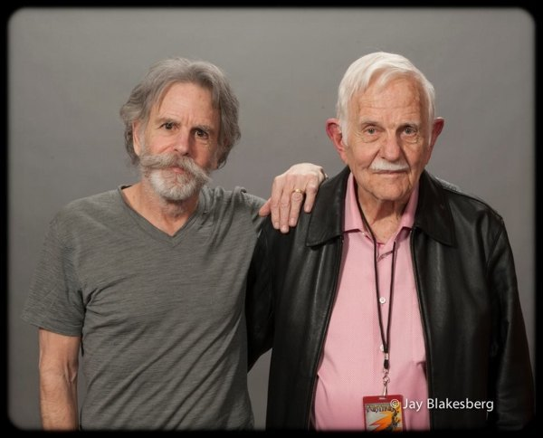 Photo of Bob Weir & his Father John Parber