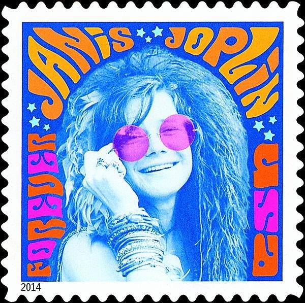 According To Linns Stamp News The Janis Joplin Is Expected Be Issued In August And Was First Unveiled A Recent Issue Of USPS USA