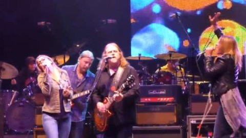 Susan Tedeschi And Grace Potter Guest At Allman Brothers Summer Finale