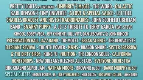 Many Special Guests Added To Jam Cruise 13 Lineup