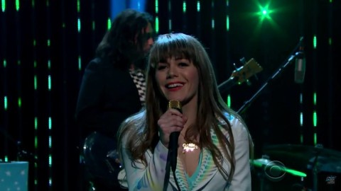 DVR Rewind   Jenny Lewis - The Late Late Show