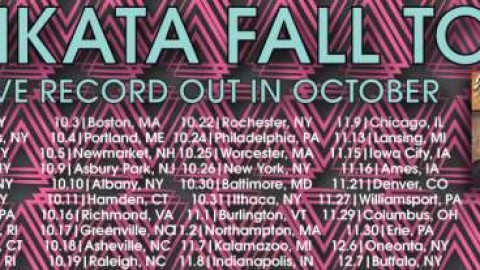 Jimkata Announces Extensive Fall Tour And Debut Live Album