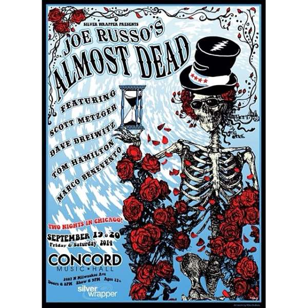 Joe Russo's Almost Dead Adds Chicago Shows