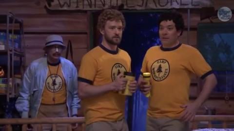 DVR Rewind | Jimmy Fallon & Justin Timberlake Back At Camp