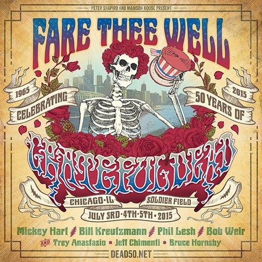 Grateful Dead 50 CID Travel & Ticket Packages Announcement