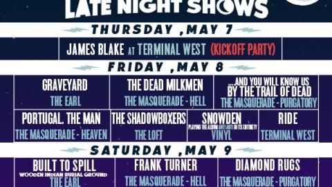 Shaky Knees Festival Announces Late Nights