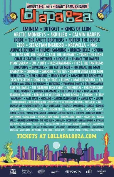 Lollapalooza 2014 Lineup | Outkast