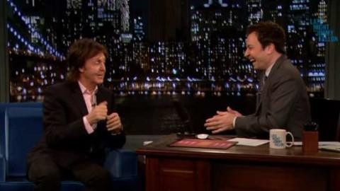 DVR Rewind | Paul McCartney Visits Late Night With Jimmy Fallon