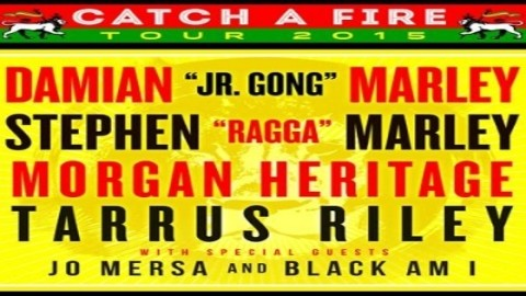 Tour Dates | Marley Brothers Catch A Fire Tour