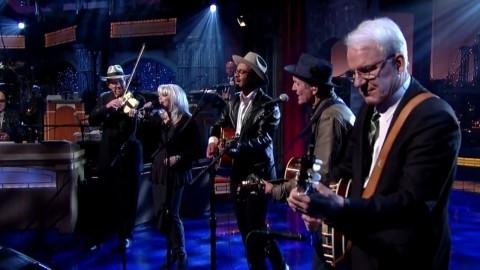DVR Rewind   Steve Martin & Emmylou Harris & More On Letterman
