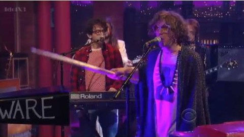 DVR Rewind | MGMT Return To Letterman With Your Life Is A Lie