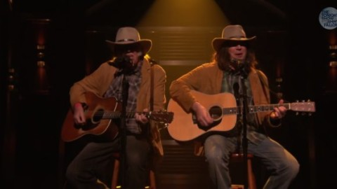 Neil Young & Jimmy Fallon As Neil Young - Old Man