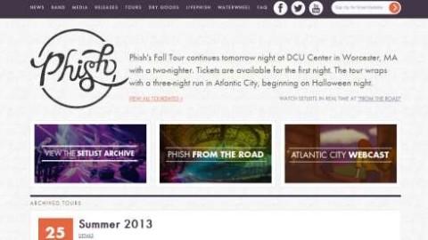 Phish Unveils New Website And Hampton Tweezer Video
