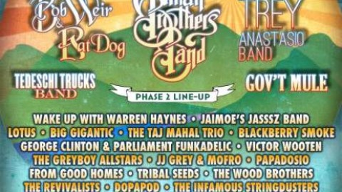 Peach Music Festival Announces Round Two Of 2014 Lineup