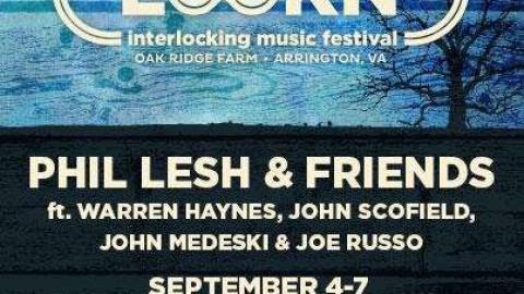 Phil Friends For Lockn' Revealed & Tedeschi Trucks Added