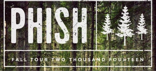 Tour Dates | Phish Fall Tour 2014
