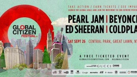Pearl Jam To Headline Global Citizen Festival