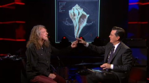 DVR Report | Robert Plant Treats Colbert To Joint & Two Songs