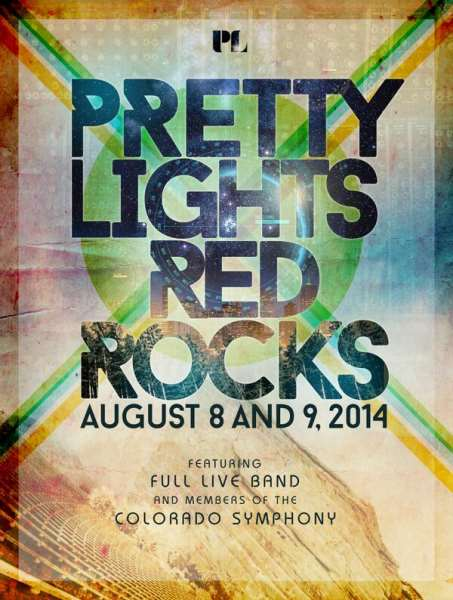 Pretty Lights At Red Rocks With Live Band & Symphony Members