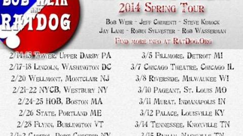 Tour Dates | RatDog Winter Tour 2014