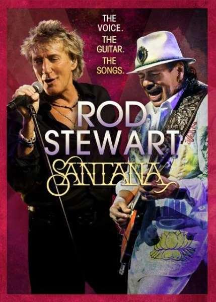 Tour Dates   Santana And Rod Stewart Pair Up For Tour